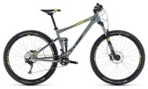 Mountainbike Cube Stereo 120 Pro grey´n´flashyellow
