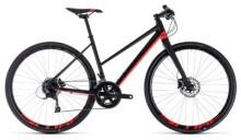 Trekkingbike Cube SL Road Pro black´n´red