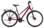 Trekkingbike Cube Touring EXC darkred´n´red