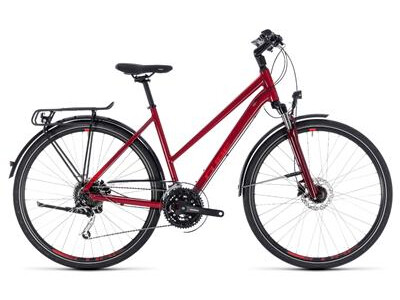 Cube Touring EXC Trapez darkred´n´red 2018