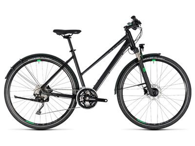 Cube Cross Allroad black´n´green Trapez 2018