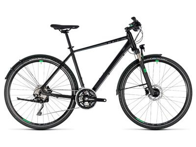 Cube Cross Allroad black´n´green Herren 2018