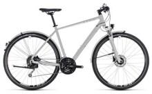 Trekkingbike Cube Nature Pro Allroad bright grey´n´white