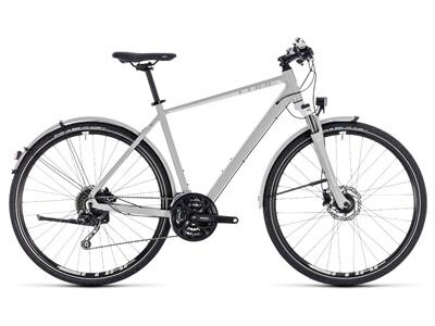 Cube Nature Pro Allroad bright grey´n´white 2018