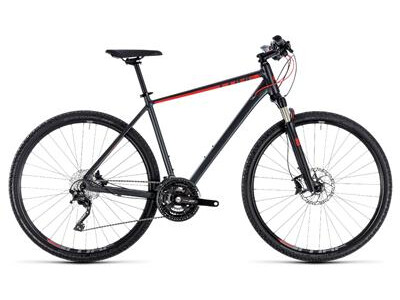 Cube Cross EXC Herren iridium´n´red 2018