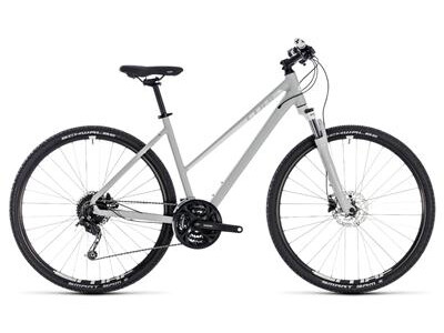 Cube Nature Pro Allroad Damen bright grey´n´white 2018