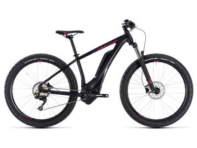 "Cube Access Hybrid Pro 500 black´n´berry 29"" 2018"