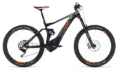 E-Bike Cube Stereo Hybrid 140 TM 500 27.5 black´n´orange