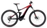 E-Bike Cube Stereo Hybrid 120 Pro 500 black´n´red