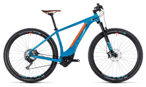 Cube Reaction Hybrid SLT 500 29er blue´n´orange 2018