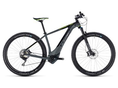 Cube Reaction Hybrid SLT 500 grey´n´green 2018 29er