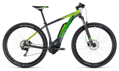 Cube Cube Reaction Hybrid Pro 500 27,5 Zoll iridium-green 2018
