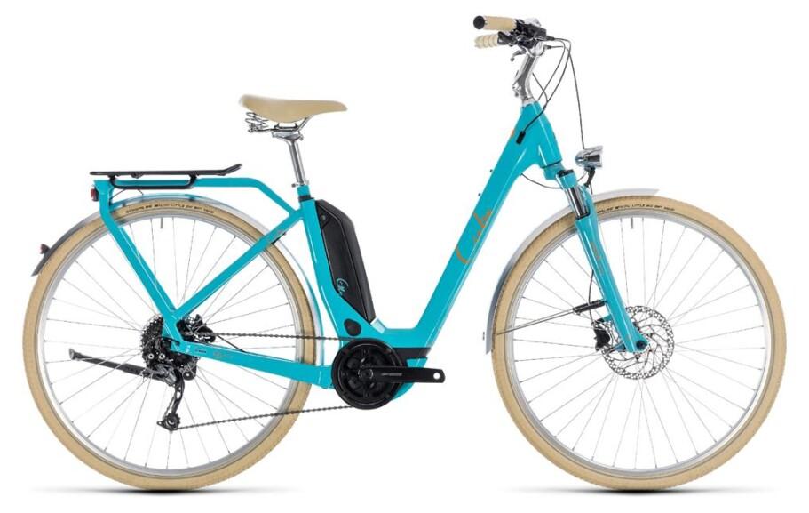 Cube Elly Ride Hybrid aqua´n orange