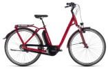 E-Bike Cube Town Hybrid Pro 500 darkred´n´red
