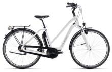 E-Bike Cube Town Hybrid ONE 400 white´n´silver