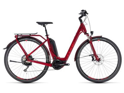 Cube Touring Hybrid EXC 500 Easy Entry darkred´n´red 2019