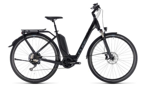 Cube Touring Hybrid EXC 500 Easy Entry black´n´grey 2018 / 2019
