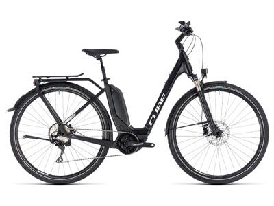 Cube Touring Hybrid Pro 500 Easy Entry black´n´white 2018