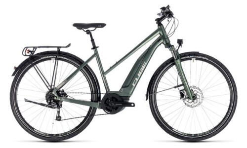 Cube Touring Hybrid ONE 500 Trapez frostgreen´n´silver 2018