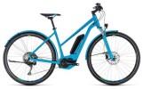 E-Bike Cube Cross Hybrid Race Allroad 500 blue´n´green