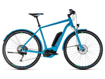 Cube Cube Cross Hybrid Race Allroad 500 blue´n´green 2018