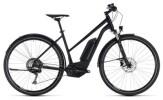 E-Bike Cube Cross Hybrid Race Allroad 500 black´n´white