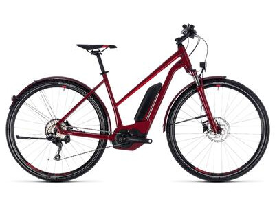 Cube Cross Hybrid Pro Allroad Trapez 500 darkred´n´red 2018