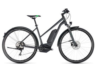 Cube Cross Hybrid Pro Allroad Trapez 500 grey´n´flashgreen 2018
