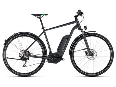 Cube Cross Hybrid Pro Allroad Herren 500 grey´n´flashgreen 2018
