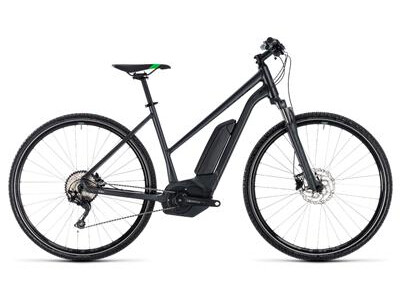 Cube Cross Hybrid Pro Trapez 500 grey´n´flashgreen 2018