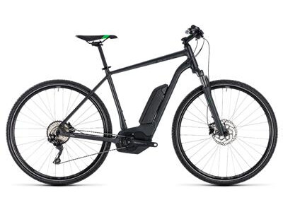 Cube Cube Cross Hybrid Pro 500 grey´n´flashgreen 2018
