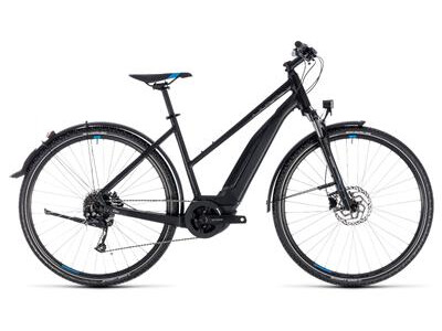 Cube Cross Hybrid ONE Allroad Damen 500 black´n´blue 2018
