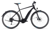 E-Bike Cube Cross Hybrid ONE Allroad 500 black´n´blue