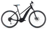 E-Bike Cube Cross Hybrid ONE 500 black´n´blue