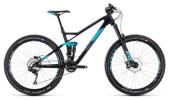 Mountainbike Cube Sting WS 140 HPC Race 27.5 carbon´n´aqua