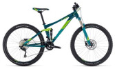 Mountainbike Cube Sting WS 120 turkisblue´n´green