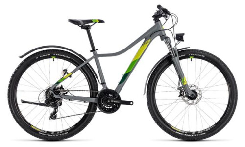 Cube Access WS Allroad grey´n´green 27,5 2018