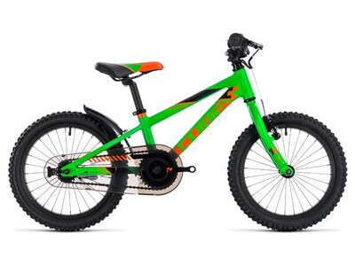 Cube Kid 160 flashgreen´n´orange 2018