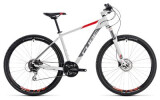 Mountainbike Cube Aim Race white´n´red