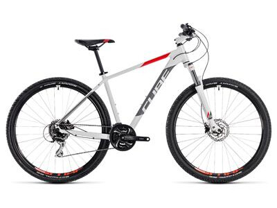 Cube Aim Race white´n´red 2018 29er