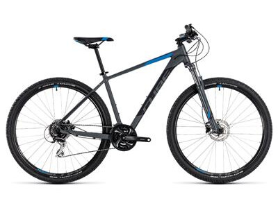 Cube Aim Race grey´n´blue 27,5 2018