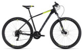 Mountainbike Cube Aim Pro black´n´flashyellow