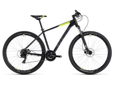 Cube Aim Pro black´n´flashyellow 29er 2018
