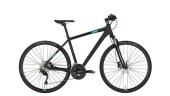 Crossbike Conway CS 701 black matt/blue -45 cm