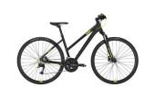 Crossbike Conway CS 501 Trapez black matt/lime -45 cm