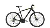 Crossbike Conway CS 501 black matt/lime -60 cm