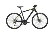 Crossbike Conway CS 501 black matt/lime -55 cm