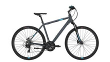 Crossbike Conway CS 301 grey matt/blue -56 cm