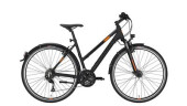 Trekkingbike Conway CC 400 Trapez black matt/orange -44 cm