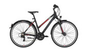 Trekkingbike Conway CC 300 Trapez black matt/red -52 cm